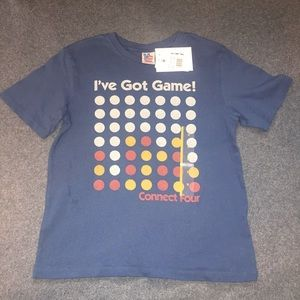 NWT Connect Four kids T-shirt size M